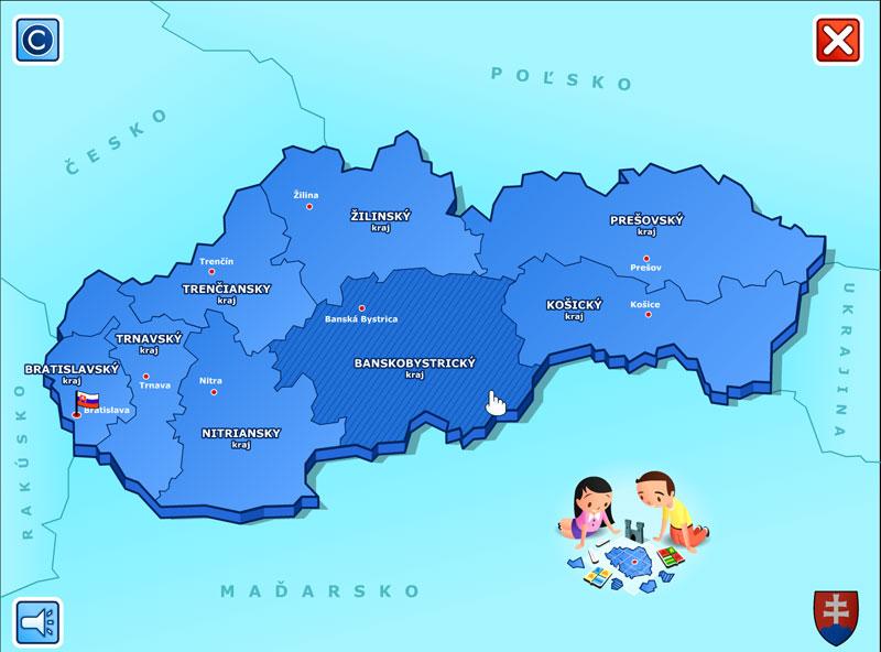 Slovenská republika a jej kraje