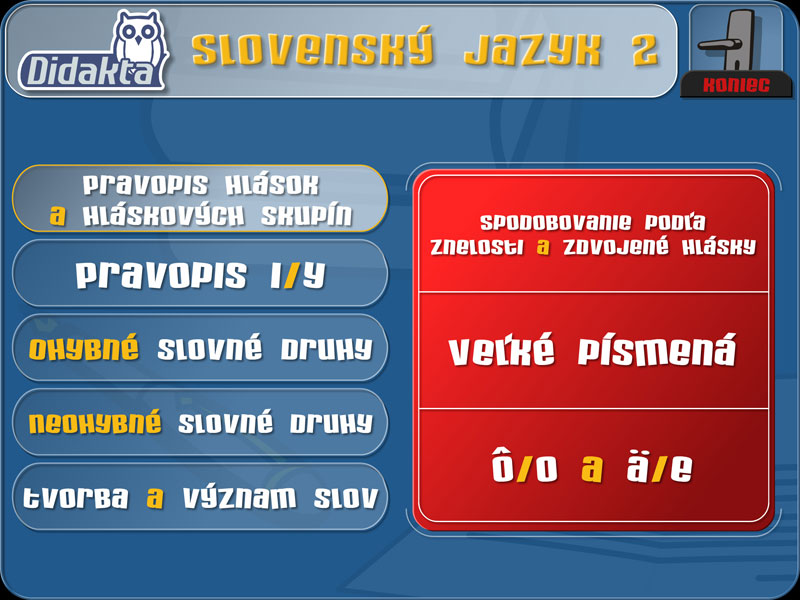 Didakta - Slovenský jazyk 2