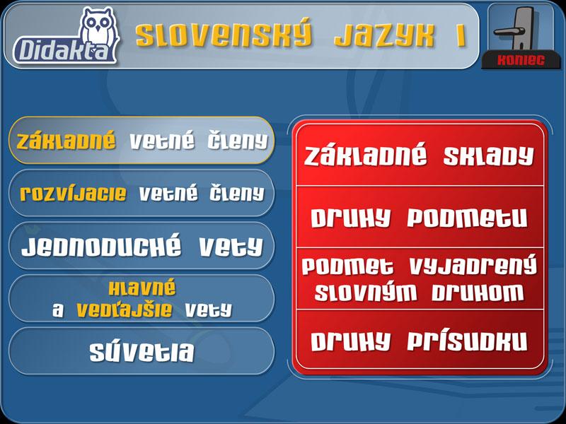 Didakta - Slovenský jazyk 1